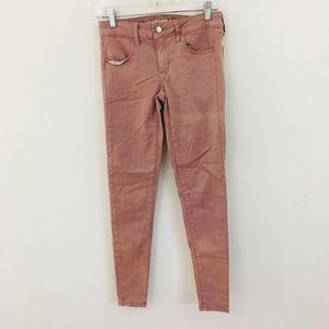 American Eagle Pink Jegging Jeans